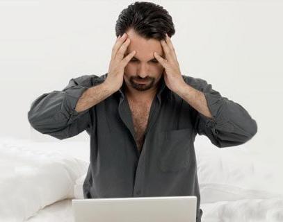 utente preoccupato per il cattivo posizionamento del proprio sito web